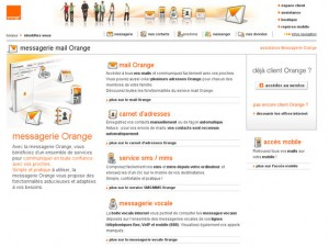 Orange Messagerie : Vos emails avec Orange.fr